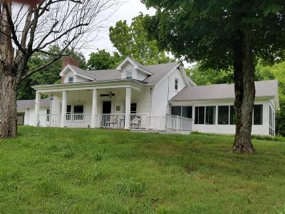 Clarksville Single Family Home For Sale: 3251 Ashland City Rd