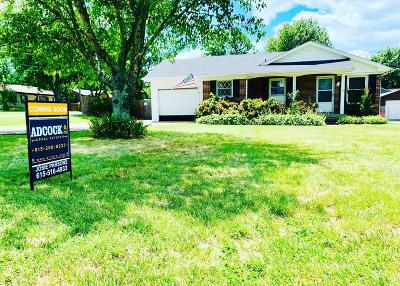Gallatin Single Family Home Active Under Contract: 124 S Electra St