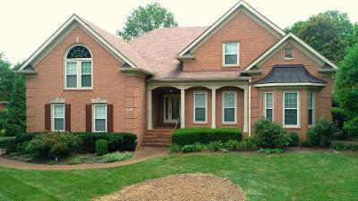 Franklin Single Family Home For Sale: 104 Cliffe Run