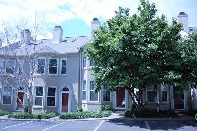 Nashville Condo/Townhouse For Sale: 206 Fairmont Ct