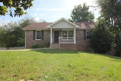 Clarksville Single Family Home For Sale: 710 Green Valley Ct