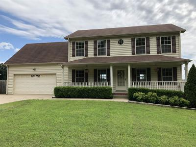 Clarksville Single Family Home For Sale: 2224 Allen Griffey Rd
