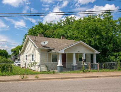 Nashville Single Family Home For Sale: 2614 Clifton Ave