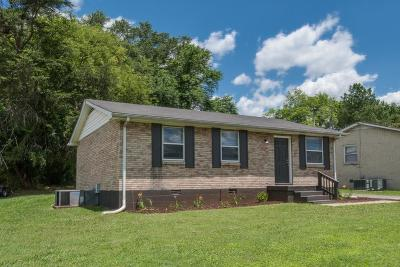 Murfreesboro Single Family Home For Sale: 1303 Eagle St