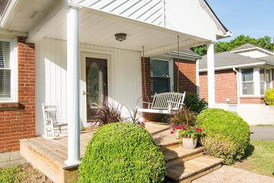 Nashville Single Family Home For Sale: 1218 Greenfield Ave