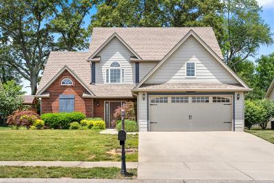 Clarksville Single Family Home For Sale: 1257 Judge Tyler Dr