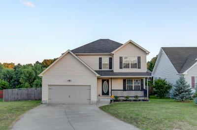 Clarksville Single Family Home For Sale: 1096 Bobcat Dr
