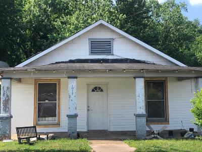 Clarksville Single Family Home Active Under Contract: 1012 Coulter St