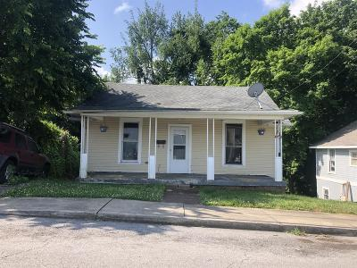 Clarksville Single Family Home Active Under Contract: 1020 Coulter St