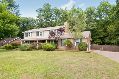 Hendersonville Single Family Home For Sale: 106 Millbrook Rd
