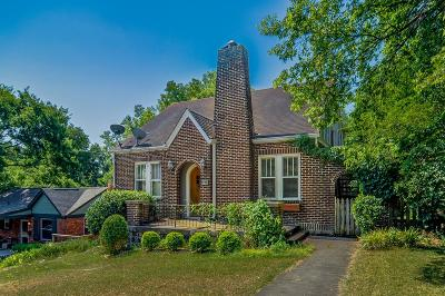 Nashville Rental For Rent: 2819 Belcourt Avenue #DOWNSTAI