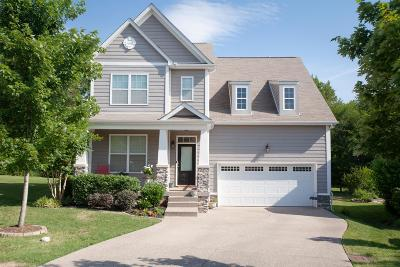 Nolensville Single Family Home Active Under Contract: 5010 Maxwell Landing Dr