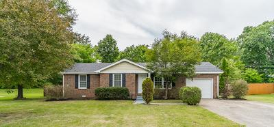 Clarksville Single Family Home Active Under Contract: 254 Northwood Ter