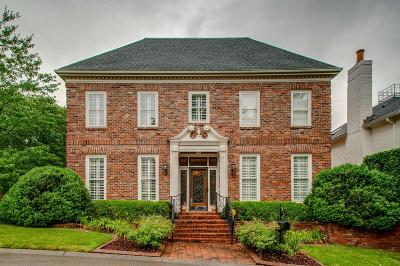 Nashville Single Family Home Active Under Contract: 815 Foster Hill