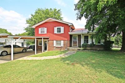 Gallatin Single Family Home For Sale: 262 Hollywood Blvd