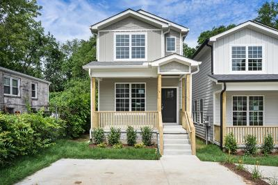 Nashville Single Family Home For Sale: 2231A 24th Ave N