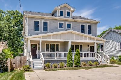 Nashville Single Family Home For Sale: 1708 Lischey Ave, Unit A