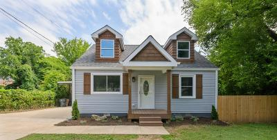 East Nashville Single Family Home For Sale: 2920 Murray Circle