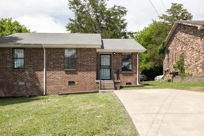 East Nashville Condo/Townhouse For Sale: 2729 Bullock Ave