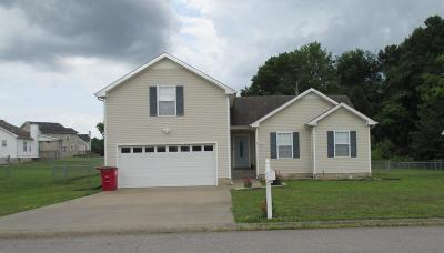 Clarksville Single Family Home For Sale: 3782 McAllister Dr