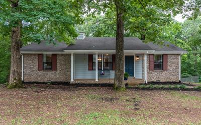 White House Single Family Home Active Under Contract: 1822 Winding Way Dr
