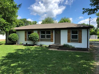 Gallatin Single Family Home For Sale: 276 Sunset Blvd