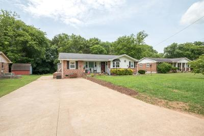 Goodlettsville Single Family Home Active Under Contract: 439 Janette Ave