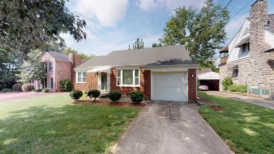 Nashville Single Family Home For Sale: 177 Woodmont Blvd