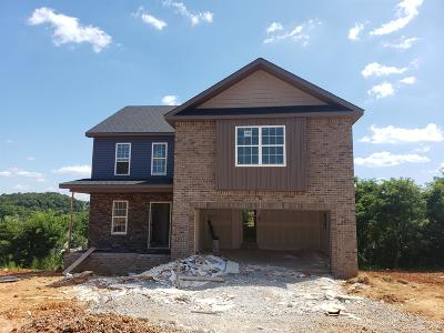 Clarksville Single Family Home For Sale: 840 Crestone Ln (Lot 143)