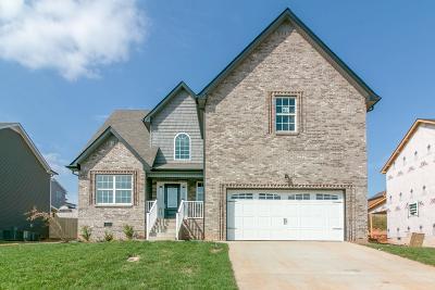 Clarksville Single Family Home For Sale: 831 Crestone Ln (Lot 81)