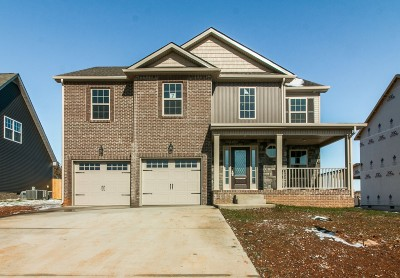 Clarksville Single Family Home For Sale: 1425 Wild Fern Ln (Lot 7)