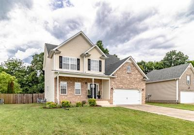 Clarksville TN Single Family Home For Sale: $219,000