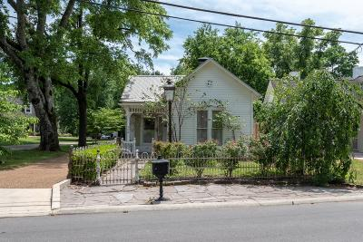 Williamson County Single Family Home Active Under Contract: 308 Stewart St
