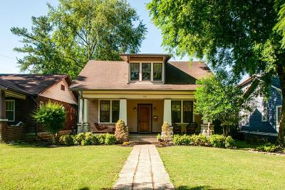 Nashville Single Family Home For Sale: 952 Mansfield St
