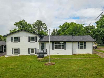 Hendersonville Single Family Home For Sale: 105 Carol Dr