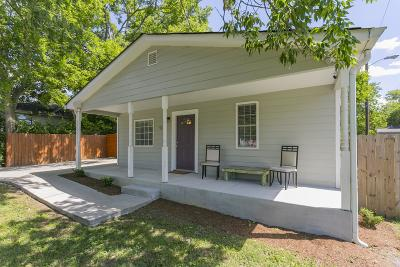 Nashville Single Family Home For Sale: 521 Radnor St