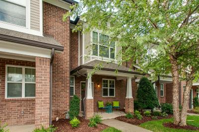 Nashville Condo/Townhouse For Sale: 820 Hillview Hts