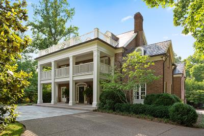 Nashville Single Family Home For Sale: 1109 Belle Meade Blvd