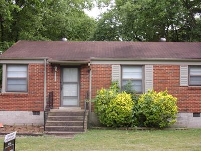 Nashville Single Family Home For Sale: 1907 Dabbs Ave