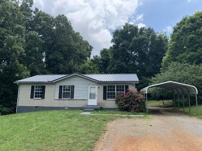 Dickson Single Family Home For Sale: 114 Hogin Rd