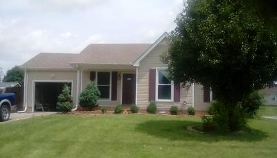 Clarksville Single Family Home For Sale: 919 Princeton Dr