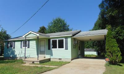 Summertown Single Family Home Active Under Contract: 119 Depot St