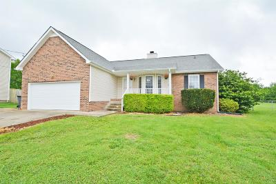 Clarksville TN Single Family Home For Sale: $160,000