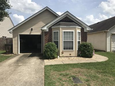 Nashville Single Family Home For Sale: 3067 Penn Meade Way