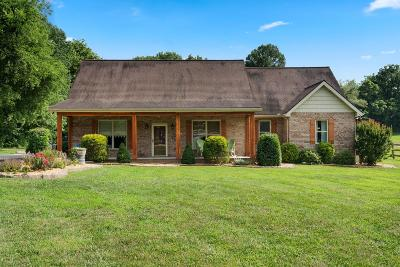 Robertson County Single Family Home Active Under Contract: 3055 Kinneys Rd