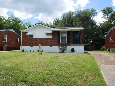 Nashville Single Family Home For Sale: 2229 11th Ave N
