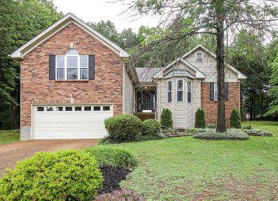 Mount Juliet Single Family Home Active Under Contract: 2018 Alice Springs Ct
