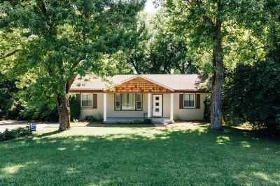 East Nashville Single Family Home For Sale: 2519 Barclay Dr