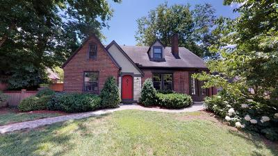 Nashville Single Family Home For Sale: 250 Lauderdale Rd
