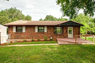 Nashville Single Family Home For Sale: 6523 Cougar Dr